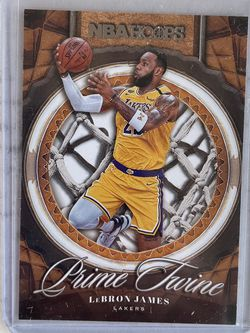 20-21 NBA Hoops Lebron James Prime Twine for Sale in San Dimas,  CA