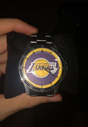 Brand New Lakers Game Time Watch ~ Coach Series ~ Quartz Analog for Sale in Santa Monica, CA