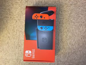 Nintendo Switch with Neon Blue and Neon Red Joy-con for Sale in Yonkers, NY