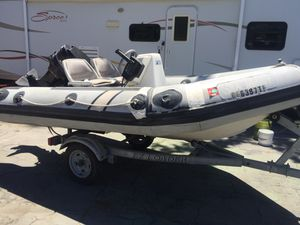 Inflatable boat for Sale in Stockton, CA