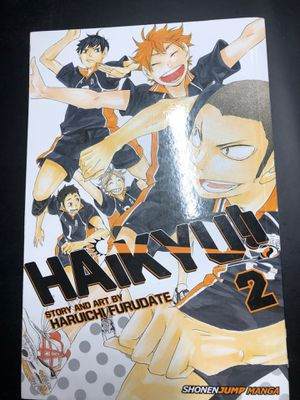 Haikyuu!! Manga Vol 2 for Sale in Santa Ana, CA