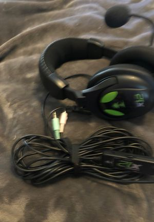 Xbox x 12 amplified Xbox gaming stereo sound wired headset headphones for Sale in San Diego, CA