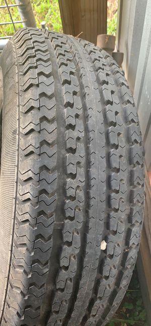 225/75/15 trailer tire & wheel utility landscape for Sale in Dade City, FL