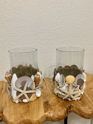 Decorative Shell Candle Holders for Sale in Miami, FL