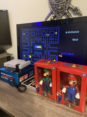Retro mini Nintendo Ness built in 620 Games classic Arcade games 🕹 + MARIO AND LUIGI FIGURE ✅✅ SHIPPING AVAILABLE🚚 for Sale in Hollywood, FL