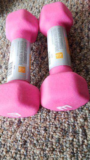 New pair of 3 lbs CAP neoprene dumbbells for Sale in Medford, MA