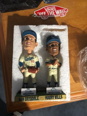 Don Drysdale/ Maury Wills bobblehead for Sale in Covina, CA