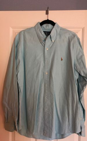 Men's Large Custom Fit Ralph Lauren Polo Shirt for Sale in Concord, CA