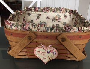 Longaberger 1992 Mother's Day Basket for Sale in Burtonsville, MD