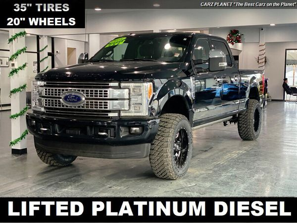 2018 Ford F-350 Super Duty Platinum LIFTED DIESEL TRUCK 4WD F350