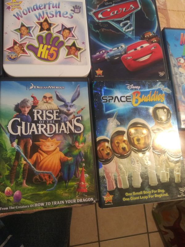 9 Disney Movies Lot. Condition is Like New.