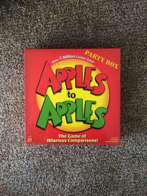 Apples to apples game for Sale in Lakewood, CO