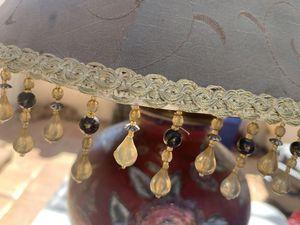 Beautiful hand painted vintage lamp for Sale in Menifee, CA