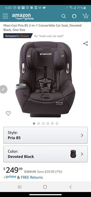 Maxi cosi car seat for Sale in Torrance, CA