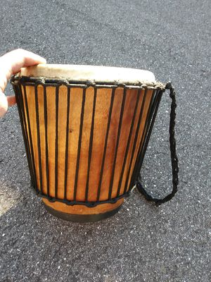 Real leather hand made drum for Sale in Bradenton, FL