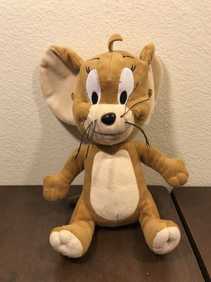 "Tom & Jerry Hanna Barbera Jerry Plush 10"" Toy Stuffed Animal for Sale in Taylorsville, UT"