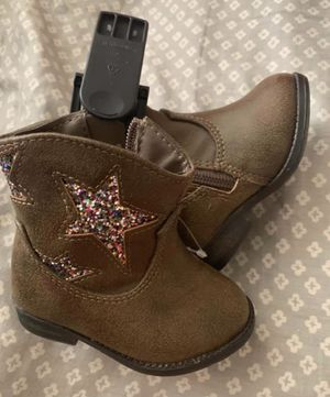 Brand new baby girl cowboy boots size 3 for Sale in Holiday, FL