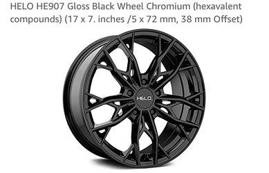 Helo Gloss Black Wheel Chromium 17in Rims for Sale in Atlantic Highlands,  NJ