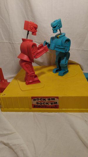 Rock'em Sock'em Robots 1966 for Sale in Brunswick, MD