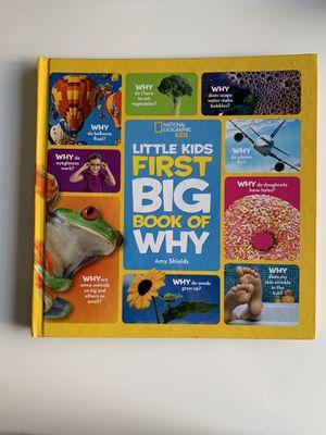 Little kids first BIG book of WHY Book for Sale in Chula Vista, CA