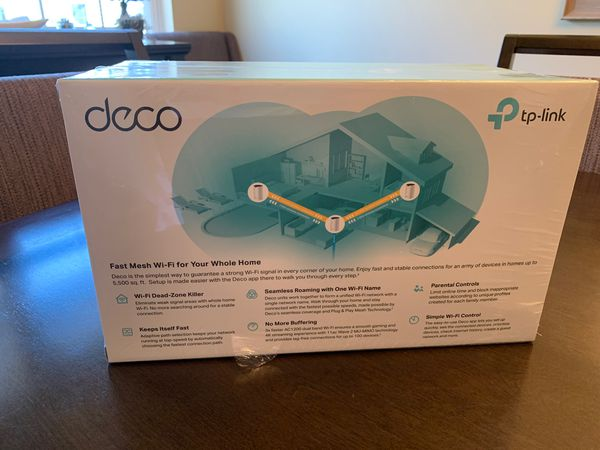 Deco Whole Home Mesh Wi-Fi System - BRAND NEW