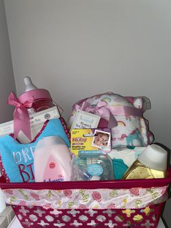 Unicorn Baby Girl Gift Basket for Sale in Hampton,  GA