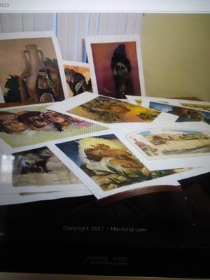 12 Lithograh Portfolio by Abel Pann! for Sale in Sudbury, MA