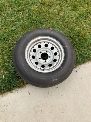 Trailer tire with no cracks for Sale in Tracy, CA