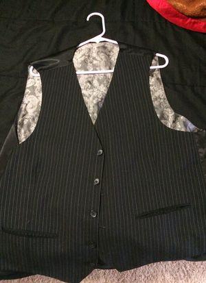 Black striped vest for Sale in Hyattsville, MD