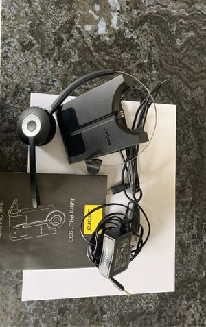 Jabra Bluetooth headset (usb to PC) for Sale in Powell, OH