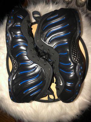 Half black half blue custom foams for Sale in San Lorenzo, CA