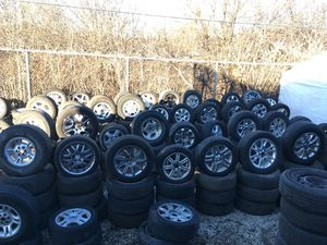 Sales wheels rims tires serious buyers only please don't waste my time for Sale in Tinley Park, IL
