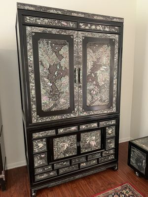 Antique oriental armoire for Sale in Riverside, CA