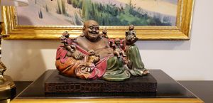 Antique Buddha Sculpture for Sale in Lake Forest, IL