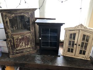 Antique Medicine Cabinets, Shadow Boxes for Sale in Randleman, NC