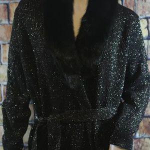 4 MICHAEL KORS FAUX FUR Collar Cardigan for Sale in Boca Raton, FL