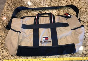 "Large Tommy Hilfiger 25"" Canvas Tote Bag for Sale in San Jacinto, CA"