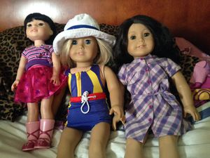 American girl dolls lot for Sale in El Monte, CA