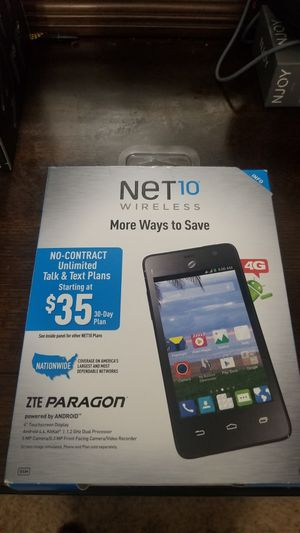 New Net10 ZTE Paragon for Sale in Houston, TX