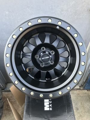 Method Race Wheels MR 304 Double Standard Matte Black 15X10 5X4.5 for Sale in Claremont, CA