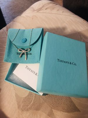 Tiffany & Co bow necklace for Sale in San Ramon, CA