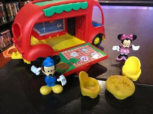 Mickey Mouse camper RV