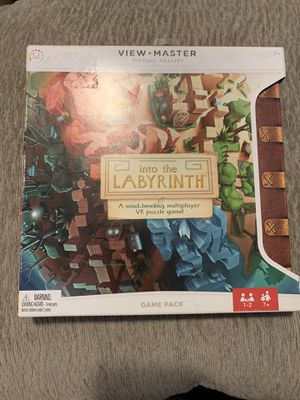 View Master VR Puzzle Game Into The Labyrinth Mind-bending Multiplayer Game Pack for Sale in Hebron, CT