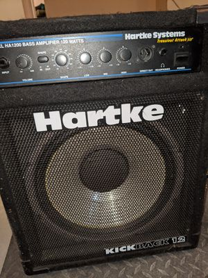 Hartke Bass Amp for Sale in Glenview, IL