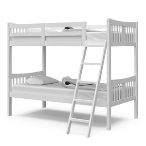 White bunk bed w/ mattress for Sale in Macon, GA