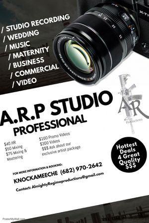 Photography, Videos, Studio Time & More for Sale in Dallas, TX