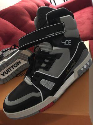 LV trainer sneaker boot. (Exclusive) for Sale in Miami, FL
