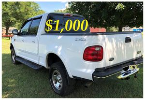 $1,000 URGENT For sale 2002 Ford F-150 XLT 4x4 very clean condition for Sale in Richmond, VA