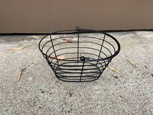 Black Wire Storage Basket for Sale in San Diego, CA