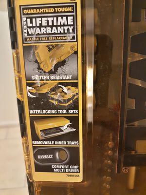 "Dewalt 1/4""Drill bit and Nut driver Set for Sale in Phoenix, AZ"